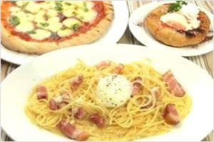 ピッツァ&釜あげパスタ