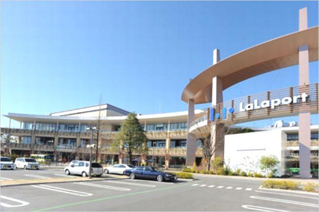 ららぽーと横浜の駐車場